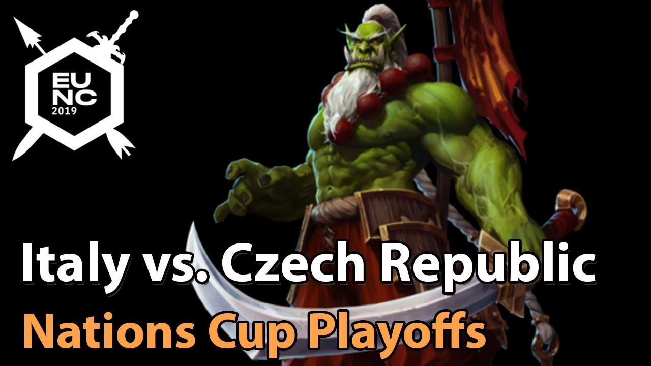 ► Italy vs. Czech Republic - Nations Cup Quarterfinal - Heroes of the Storm Esports
