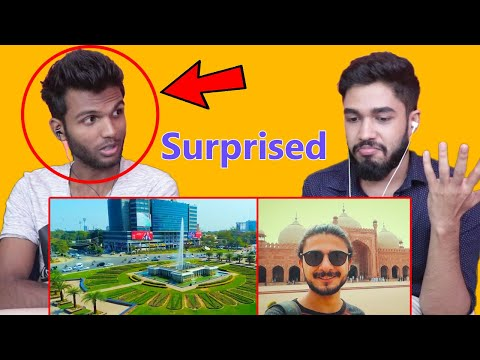 My Friend reacts to LAHORE for the FIRST Time!