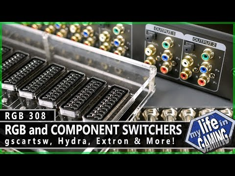 RGB308 :: RGB and Component Switchers: gscartsw, Hydra, Extron, and more - MY LIFE IN GAMING