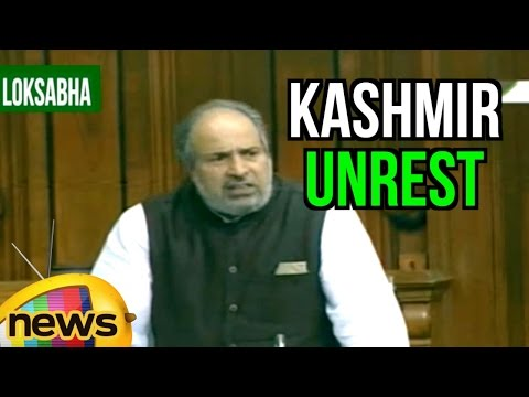 Muzaffar Hussain Baig Full Speech Over Kashmir Unrest   Lok Sabha   Parliament Session
