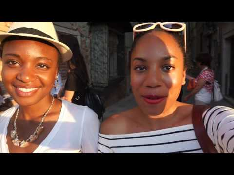 Being Black In Venice Italy