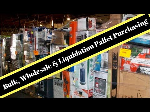 Top 10 Wholesale Bulk Pallet purchasing websites. Ebay & Amazon Sales