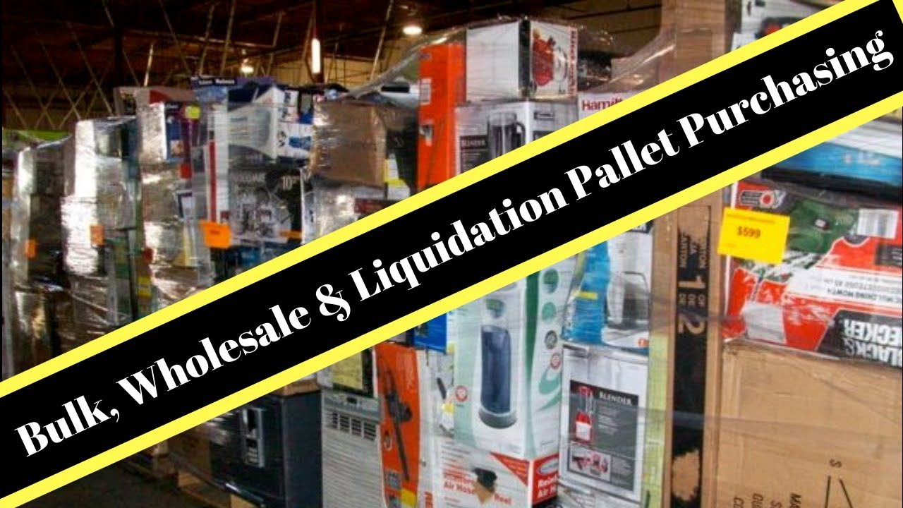 Top 10 Wholesale Bulk Pallet purchasing websites  Ebay & Amazon Sales