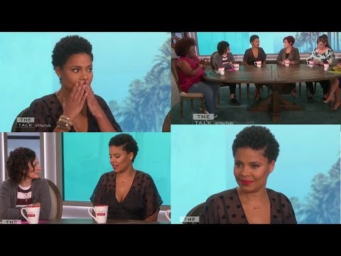 Sanaa Lathan FINALLY TALKS about BITING BEYONCE in NEW INTERVIEW on THE TALK!