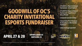 Goodwill of OC Charity Invitational: Street Fighter V Pools draft + Pools 1-3