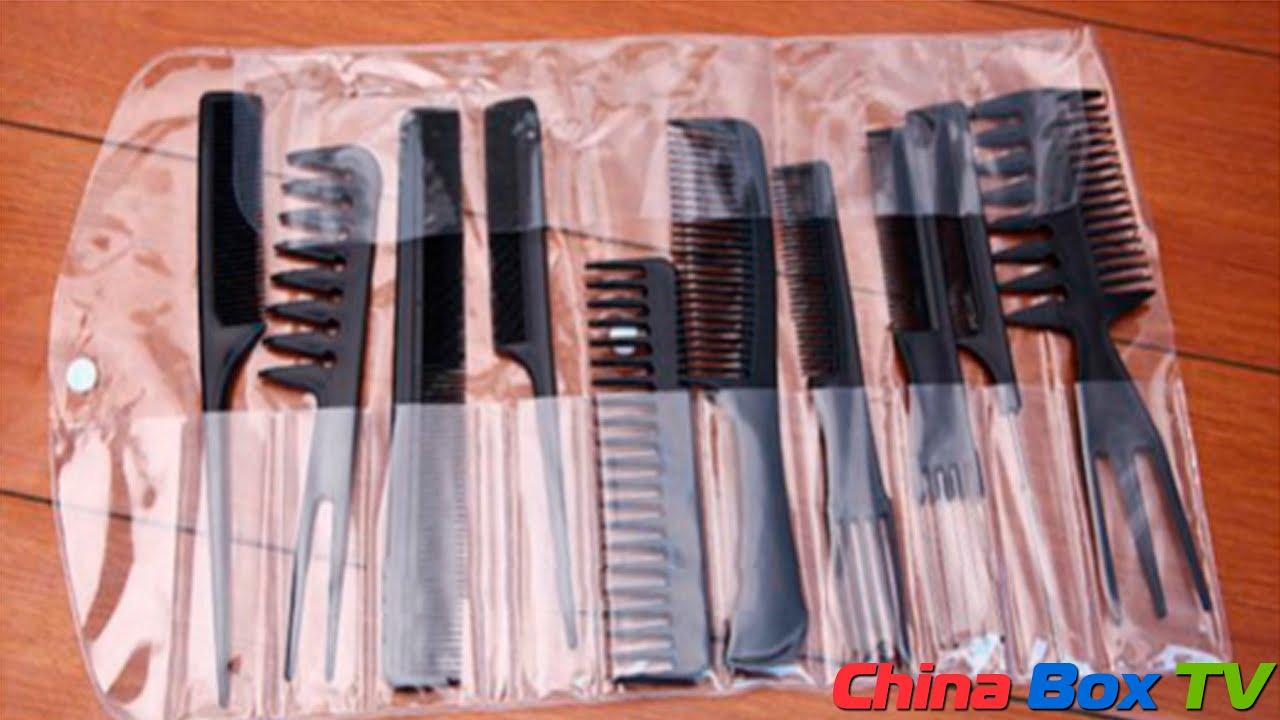 расчёски для парикмахеров описание и фото