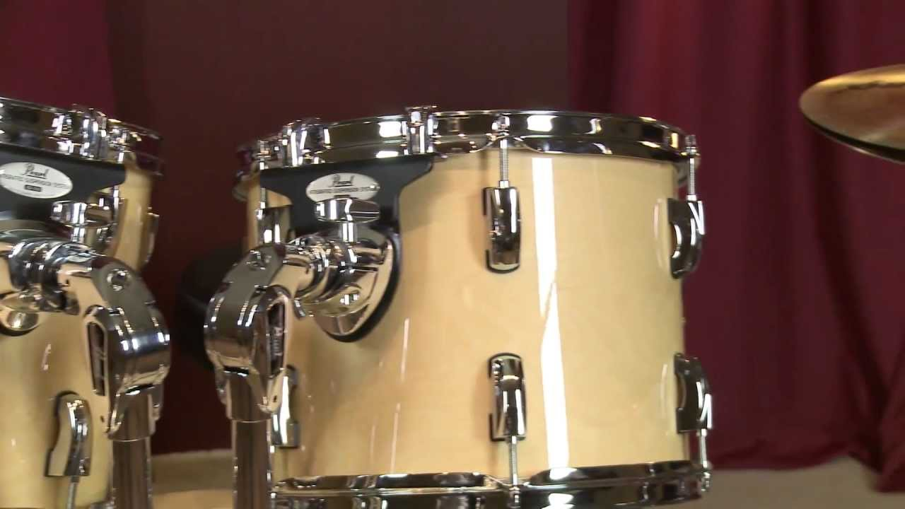 pearl drums vbl vision series 5 piece birch drum set review full compass youtube. Black Bedroom Furniture Sets. Home Design Ideas