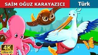 Minnettar Vinç  The Grateful Crane Story  Masal dinle  Türkçe peri masallar