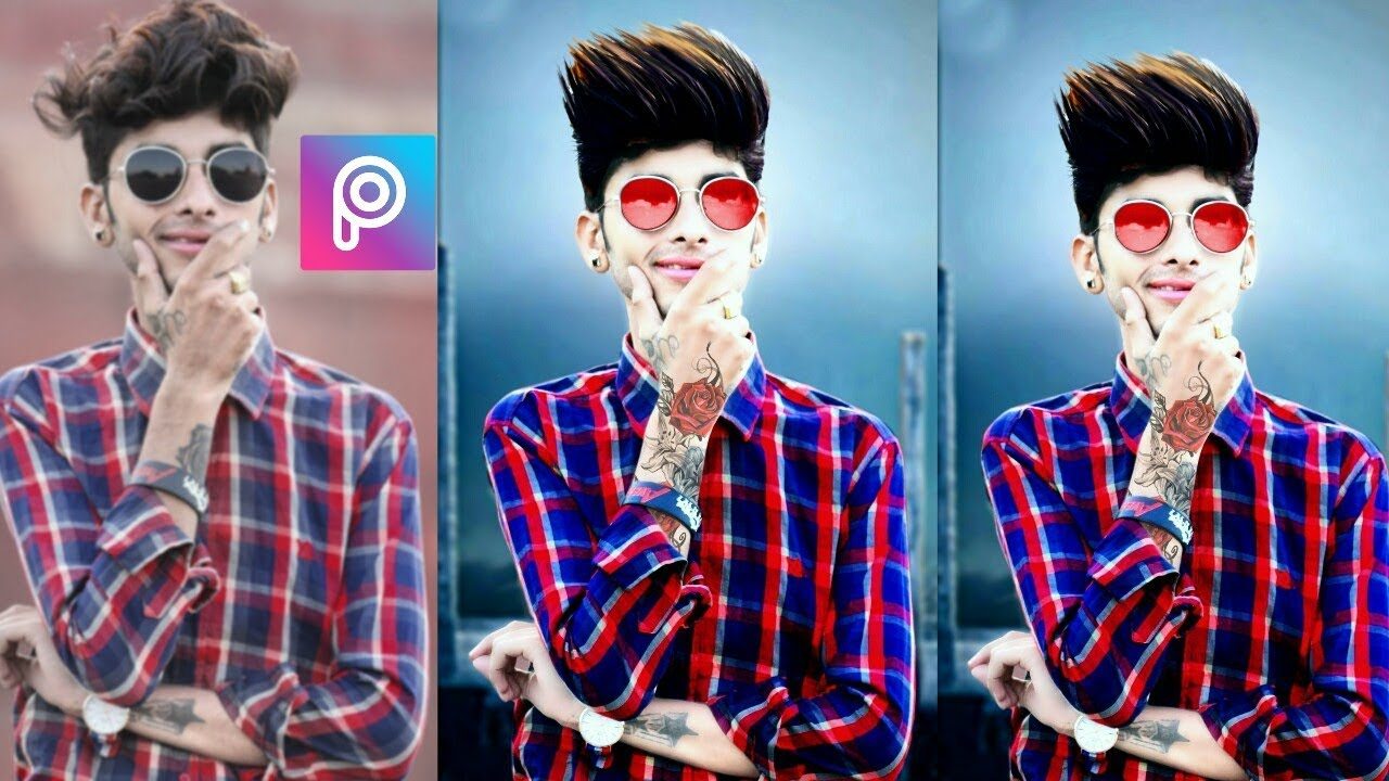 PicsArt Background Change Style Hair Style Saturation Effect - Hair style change photo effect