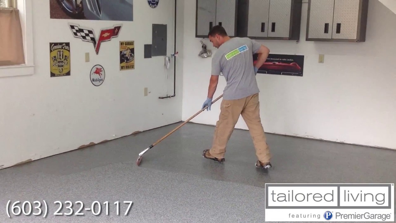 Superieur Epoxy Floors With Tailored Living NH   Meet The Chuck. Tailored Living  Featuring Premier Garage ...