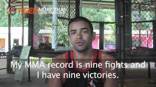 Undefeated Nova Uniao Black Belt Yan Cabral trains @TigerMuayThai for fight against Kazushi Sakuraba