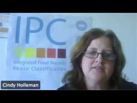 Cindy Holleman on the IPC food insecurity analysis tool