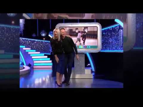 Strictly Shock As Zoe Ball Has Skirt Lifted Up By Professional Dancer Live On Air