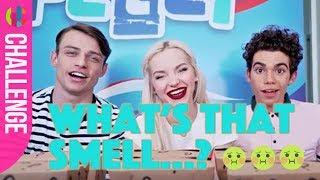 Disney Descendants Cast Do The Smell Challenge!!!