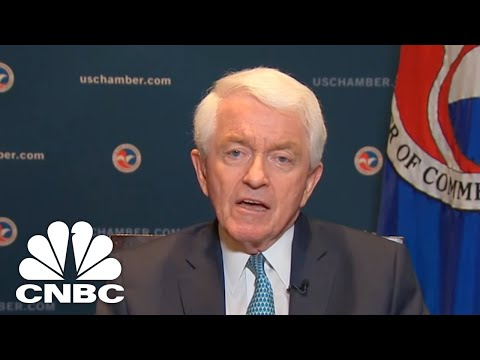Chamber Of Commerce CEO Tom Donohue On China Trade Talks | CNBC