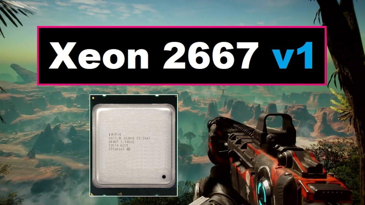 Xeon 2667v1, бюджетный игровой процессор за 2300