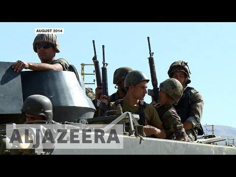 Lebanon's army targets ISIL fighters near Syrian border
