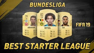 BUNDESLIGA IS THE BEST LEAGUE FOR STARTER TEAMS / MAKING COINS! FIFA 19 Ultimate Team