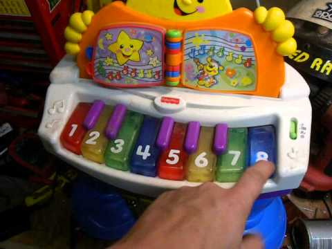 Mattel Fisher Price Laugh Amp Learn Baby Grand Piano Youtube