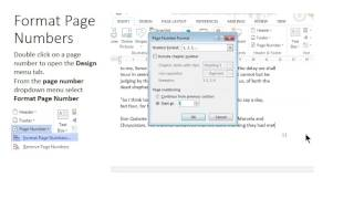 MS Word Page breaks, Section Breaks & Page Numbering
