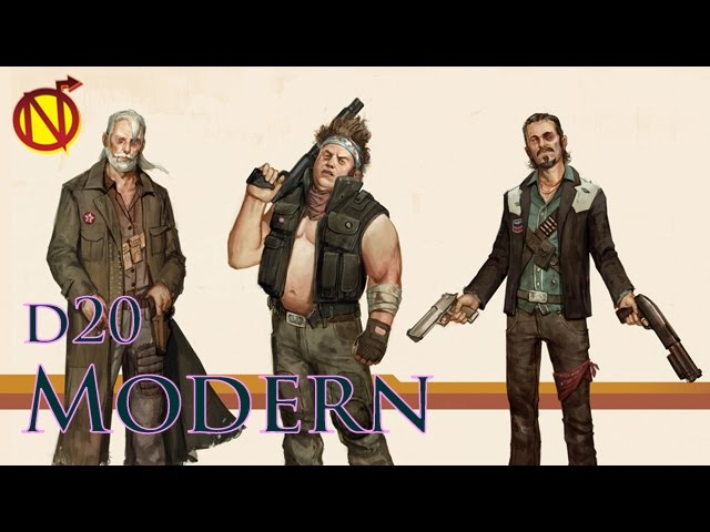 D20 Modern for D&D 5E Modern Magic| Unearthed Arcana Reviewed - YouTube