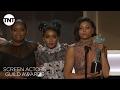 Hidden Figures Cast: Acceptance Speech | 23rd Annual SAG Awards | TNT