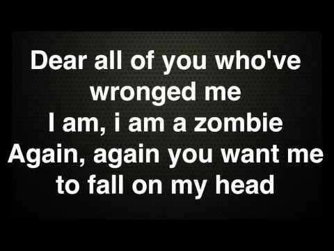 The Pretty Reckless - Zombie (instrumental with Lyrics)
