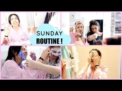 Ma routine (incroyable mais vraie) du dimanche ♡