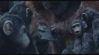 Планета обезьян  Революция 2014   Трейлер