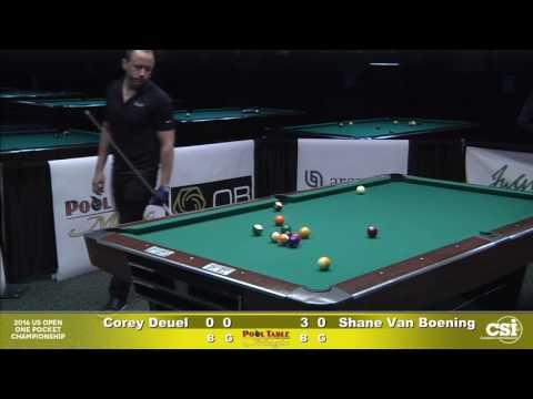 Match 9 Corey Deuel vs Shane VanBoening