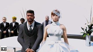 FRANKLIN'S WEDDING WITH MIA (GTA 5 Mods)