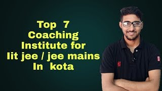 BEST coaching Institute for IIT jee / jee mains in kota | Pros and cons | Allen | Resonance