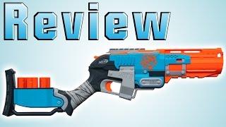 Nerf ZombieStrike Sledgefire Review [deutsch/german] Video