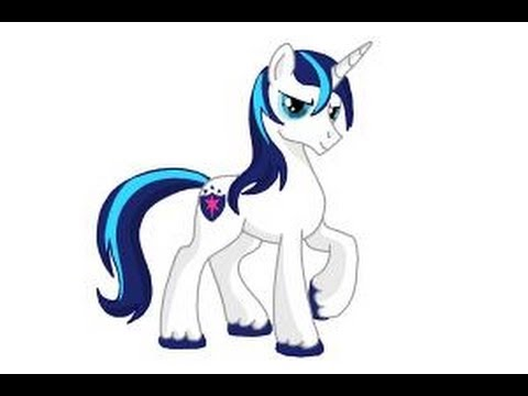 how to draw shining armor from my little pony friendship is magic