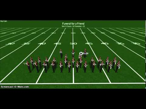 Funeral for a Friend - 2014 UGHS Marching Broncos