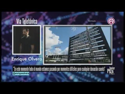 Enrique Olvera recauda dinero para mexicanos en EU sin trabajo por el coronavirus