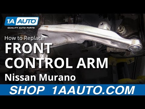 How to Replace Front Lower Control Arm 09-14 Nissan Murano