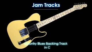Country Blues Backing Track (C) - TheGuitarLab.net -