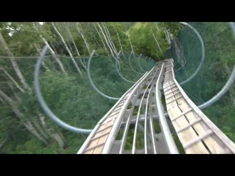 ALPINE COASTER Park City, Utah -- July 21, 2012