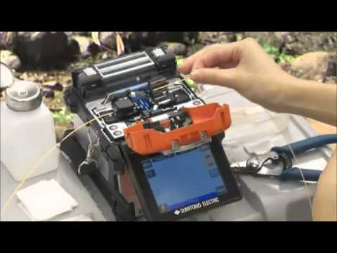 Sumitomo Fusion Splicer - T 71C - Promotional Video