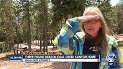 Triple Homicide in Coal Creek Canyon