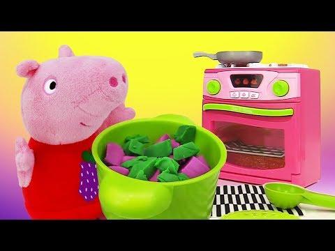 Мультфильм свинка пеппа для детей игрушки