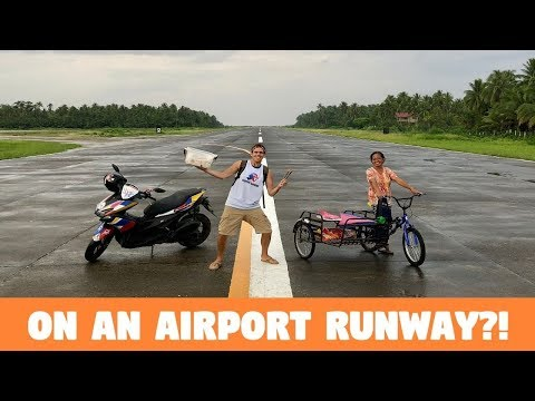 FILIPINO SNACKS ON AN AIRPORT RUNWAY? (Failed Adventure In The Philippines)