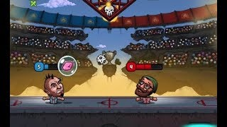 Puppet Football - Fighters Game Level 17-20 - League 2 Boss Walkthrough