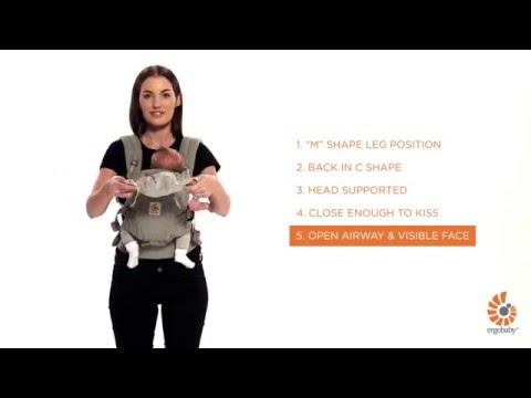 Ergobaby Adapt Carrier | Front Carry (parallel 'H' Straps)