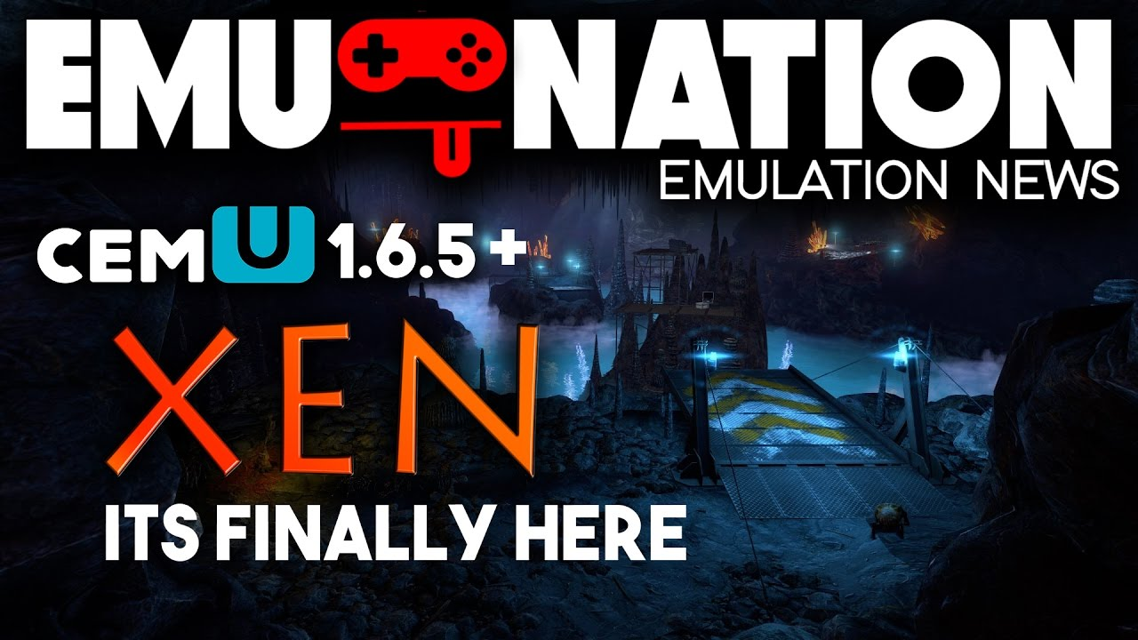 EMU-NATION: Wii U Emulator Update and XEN, finally unleashed!