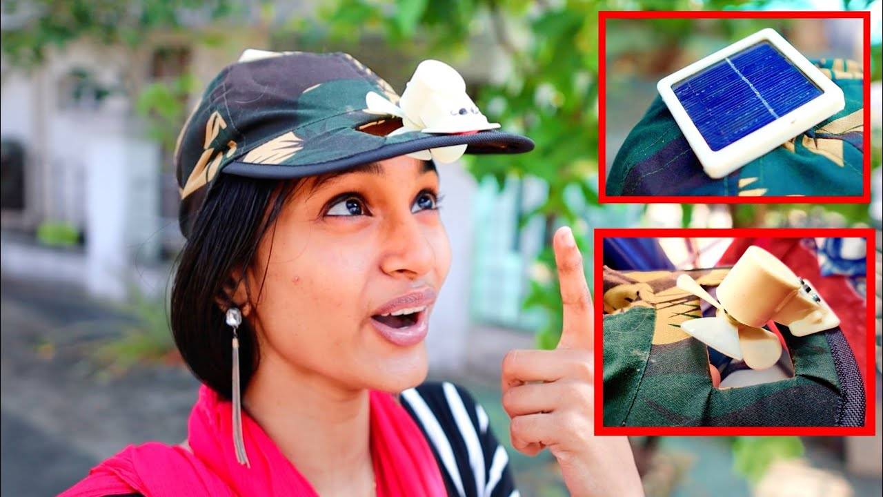 SOLAR + FAN IN A CAP 🤣🤣🤣 ഇത് വെറും തൊപ്പി അല്ല🔥UNBOXINGDUDE