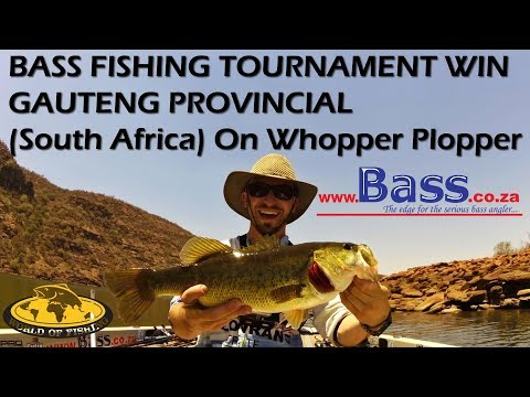WHOPPER PLOPPER TOURNAMENT WIN! Bass Fishing Mokolo Dam South Africa