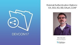 External Authentication Options: EA, SSO, AD, OD, OAuth, LDAP (Advanced 002)