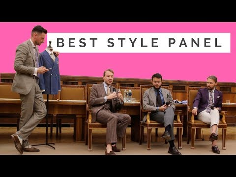 Style Panel. Warszawa pod Krawatem Fashion Discussion. Fabio